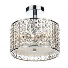 Attrayant Art Deco Stalled Luxury Bathroom Light A Modern Take On A Crystal Chandelier .