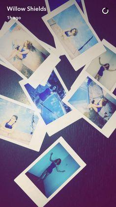 Willow Shields Snapchat