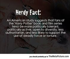 Interesting Nerdy Fact