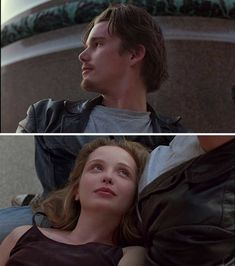 before sunrise - before sunrise Source by baak_uzun. Before Sunrise Trilogy, Before Trilogy, Series Movies, Film Movie, Movies Showing, Movies And Tv Shows, Mazzy Star, Julie Delpy, Aesthetic Movies