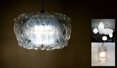 HOW TO make six-pack pendant lights - This is the DIY version of my custom lights that you can make in one evening.
