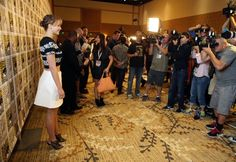 All eyes on Jennifer Lawrence at the San Diego Comic Con.  We have the highlights from the Catching Fire panel for you