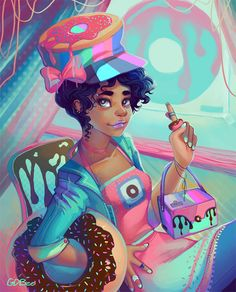Donuts by GDBee on DeviantArt