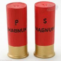 Magnum Shotgun Shells Hunting Salt and Pepper Shakers