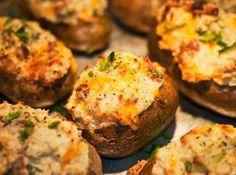 Batata recheada!! #potato #batata #recipe #cheese #receita #cybercook #food