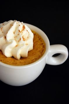 Pumpkin Spice Latte Mascarpone Cheesecake Pots