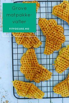 Grove matpakkevafler med ost og skinke fra FitFocuse | Sunn frokost | Vafler oppskrift | Sunne snacks | Lavkarbo oppskrift | Hverdagsinspirasjon
