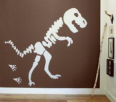 Jumbo Dino Bones Decal | Pottery Barn Kids