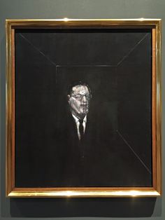 FRANCIS BACON Portrait of R. Sainsbury, 1955 Oil on canvas Dimensions 115 x 99 cm Collection Sainsbury Centre for Visual Arts, Robert and Lisa Sainsbury Collection, University of East Anglia University Of East Anglia, Francis Bacon, Visual Arts, Oil On Canvas, Centre, Reflection, Lisa, Portrait, Painting