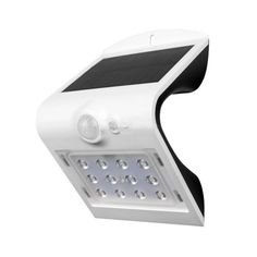 LED solárne nástenné svietidlo v bielej farbe, Denná biela, Solar Wall Lights, 5 W, Building Materials, Solar Power, Solar Panels, Beams, Models, Products