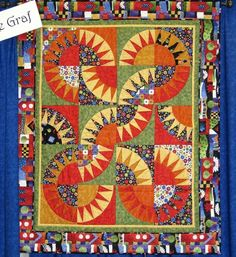Hello Friends, you have seen glimpses of my Sausalito New York Beauty quilt: I am so excited I can now reveal my Sausalito New York Beauty Quilt pattern in full! The quilt desig… Paper Piecing Patterns, Quilt Block Patterns, Quilt Blocks, Star Quilts, Scrappy Quilts, Liberty Quilt, New York Beauty, Quilt Border, Quilting Designs