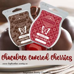 Scentsy Mixer: Combine 1 cube Mochadoodle with 1 cube Sugared Cherry to create Chocolate Covered Cherries. #mondaymixer
