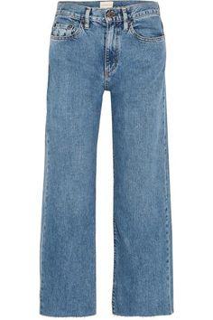 SIMON MILLER W006 Marlo High-rise Wide-leg Jeans