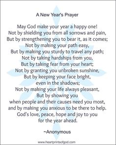 heartprints of god looking ahead to 20163 new years prayer