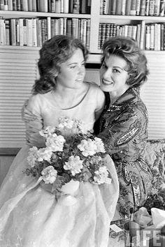 Maureen O'Hara and daughter Bronwyn