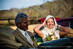 Classic Car Wedding Photos - Silver Screen Bride - Country Farm Rustic Wedding - Simple Elegance - Blush - Ivory - Peach - Pink - Ranunculus - Berries - Texture Bouquet - Knoxville TN Florist - Bride and Groom Photos - Wedding Ideas - Photo Inspiration - www.lisafosterdesign.com