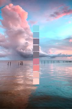 Use any photo and add in colour palette in post editing Colour Pallette, Colour Schemes, Ocean Color Palette, Design Graphique, Colour Board, Color Stories, Color Swatches, Color Theory, Cute Wallpapers