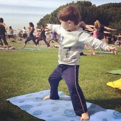 Dana Point Yoga at the park