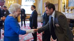 Recycling Lives Director Daniel Jackson meets HRM Queen Elizabeth II to accept our second Queens Award Recycling Services, Daniel Jackson, Queen Elizabeth Ii, Charity, Queens, Commercial, London, Life, London England