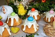 Babeczki piaskowe z jajem -