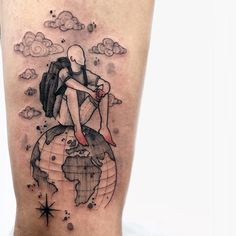 We list here in this area 10 tattoo artists that devastate tattoos themed trip. Mini Tattoos, New Tattoos, Body Art Tattoos, Small Tattoos, Tattoos For Guys, Cool Tattoos, Tatoos, White Tattoos, Arrow Tattoos