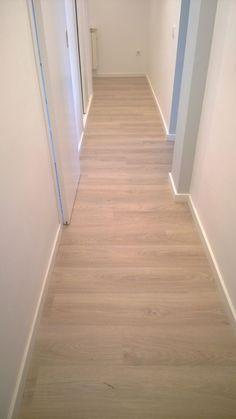 Suelo laminado aero roble beige leroy merlin 6 95 m2 for Oferta suelo laminado