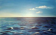 Mare Infinito - Arte ViolaV Waves, Caption, Outdoor, Infinity, Art, Outdoors, Outdoor Games, Outdoor Living, Beach Waves