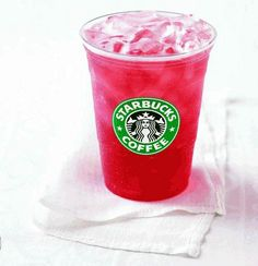 Passion tea lemonade- Just like Starbucks but calorie-free, sugar-free. Even HCG approved!!  Make a pitcher of Tazo Iced Passion Tea (can be found at any grocery)  Fill shaker glass with ice. Add 2 parts unsweetened Passion Tea to 1 part cold water. Add 1 individual packet of True Lemon Original Lemonade (Kroger), which is 100% natural and made with HCG approved Stevia, or Crystal Light if you just want sugar-free. Shake well and enjoy!