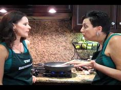 Saucy Glazed Mushrooms are on the menu in this episode from Chef AJ and Julieanna Hever, the Plant-Based Dietitian.