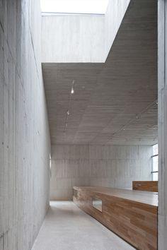 Museo De Semana Santa De Hellìn, Hellìn, 2011 http://bit.ly/IrtjBx by Exit Architects #architecture #archilovers #concrete