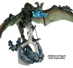 """Pacific Rim - 7"""" Ultra Deluxe Action Figure - Kaiju Otachi Flying Version  Additional Image"""