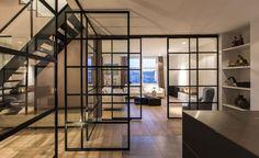 Verrieres on pinterest windows and doors mezzanine and - Verriere avec porte coulissante ...