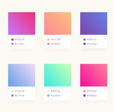 Soft Gradients (sketch, psd, xd) by Emma Drews on Dribbble violet gradient color code - Violet Things
