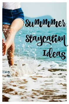 Summer will be here before you know it. This year, why not stay home and celebrate your family with these 10 Summer Staycation Ideas! Summer Activities For Kids, Family Activities, Things To Do At Home, Staycation, Winter Holidays, Hygge, Spring Break, Summer Fun, Family Travel