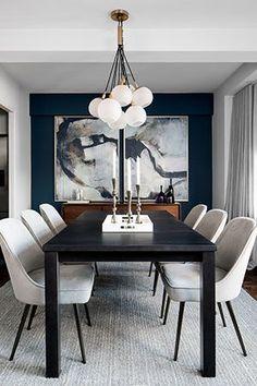 376 Best Black Dining Room Decor Images