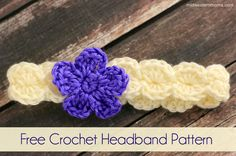 A cute little crochet headband pattern I made as a gift for my niece for Christmas. Pattern is simple. Even a beginner can whip this up in no time.