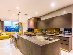 A statement of luxurious contemporary living Kitchen Confidential, Number 12, Contemporary, Luxury, Architects, Home Decor, Image, Decoration Home, Room Decor