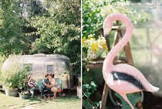 Eclectic and Kookie? Would you have a flamingo at your wedding ;)