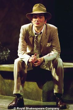 PHOTO OF THE DAY -22nd April 2016   David Tennant as Antipholus of Syracuse in the RSC production of The Comedy of Errors (2000)