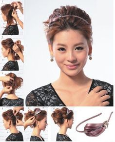 messy hairstyle tutorial