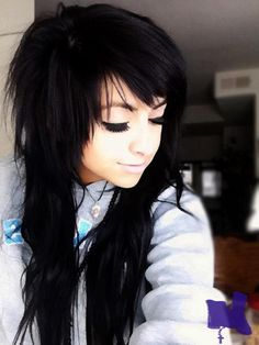 karla krayola emo girl hair