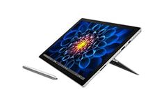 Surface Pro 4 provides versatility of a laptop and tablet while powering through tough tasks, while being lighter than ever at 1.73 pounds.