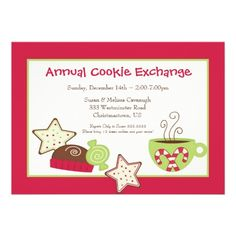 Cookie Exchange Christmas Party (Invitations)  $2.05