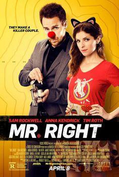 Mr. Right - Poster & Trailer | Portal Cinema