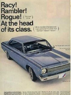 1966 -- my parents had a white Rambler when I was a baby.