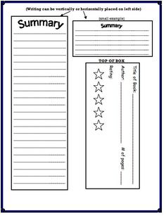 Cereal Box Book Report | Cereal, Template and Box