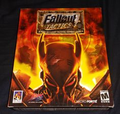 FALLOUT TACTICS PC Game Original  BIG BOX -- NEW Sealed .........