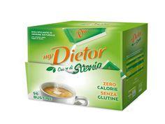 myDietor liquido e myDietor Cuor di Stevia dolcezza sempre più buona senza calorie, senza aspartame e senza glutine. Leggero e buono.