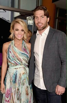 #Carrieunderwood and Mike Fisher her husband