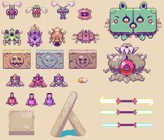 Resultado de imagen para waterfall top down view pixel art Pixel Art, Pixel Characters, Pixel Animation, Pixel Games, Pixel Design, Environment Concept Art, Video Game Art, Game Design, Art Tutorials